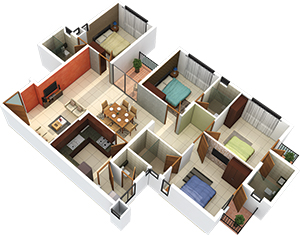 2 bhk flats in trivandrum