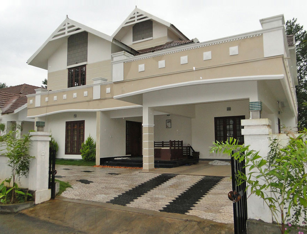 Front Elevation Ground Floor House : House front elevation for ground floor in hyderabad