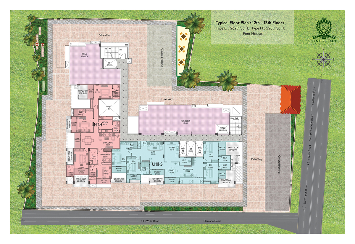 Kings Place – King Of Queens House Floor Plan