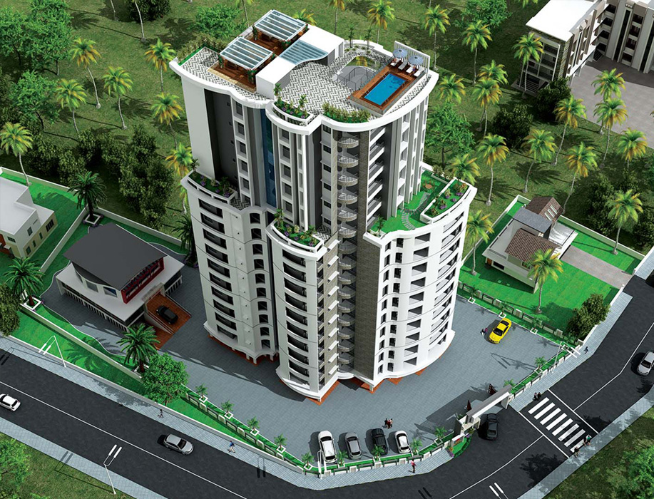 Anta Marvel Apartments at Vytila
